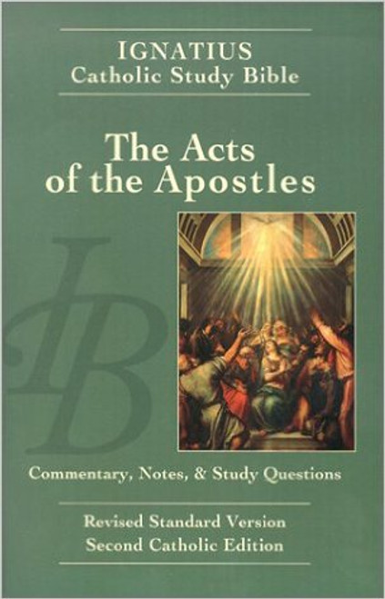 The Acts of the Apostles Study Bible