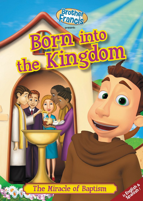 Brother Francis: Born into the Kingdom Cover