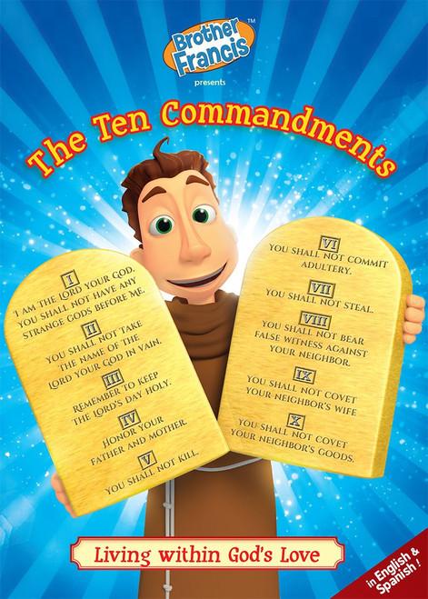 Brother Francis: The Ten Commandments DVD