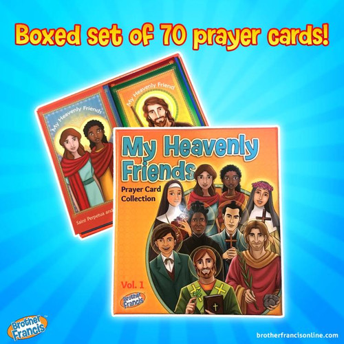 My Heavenly Friends Prayer Card Collection