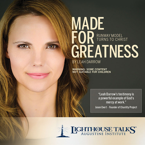 Made for Greatness: Runway Model Turns to Christ (MP3)