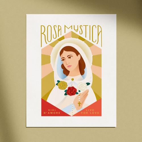 Rosa Mystica Print