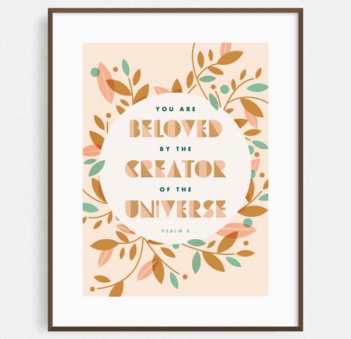 Beloved (Psalm 8) Print