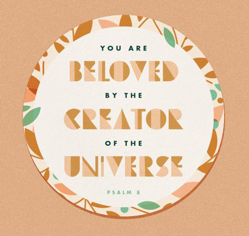 Beloved (Psalm 8) Sticker