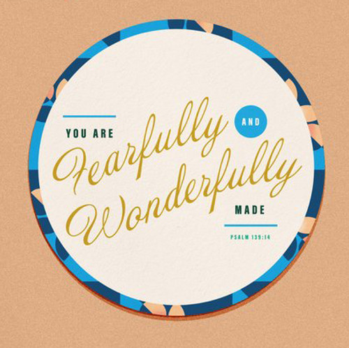 Fearfully + Wonderfully Made Sticker