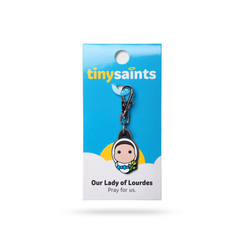 Our Lady of Lourdes Charm