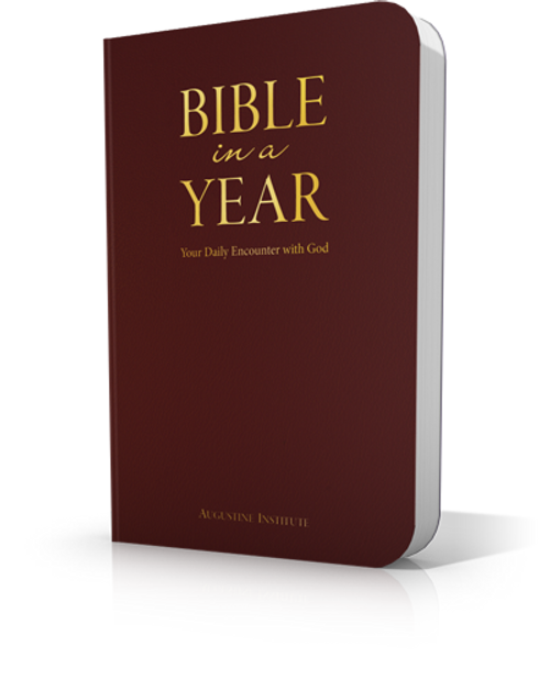 Bible in a Year - Leatherbound