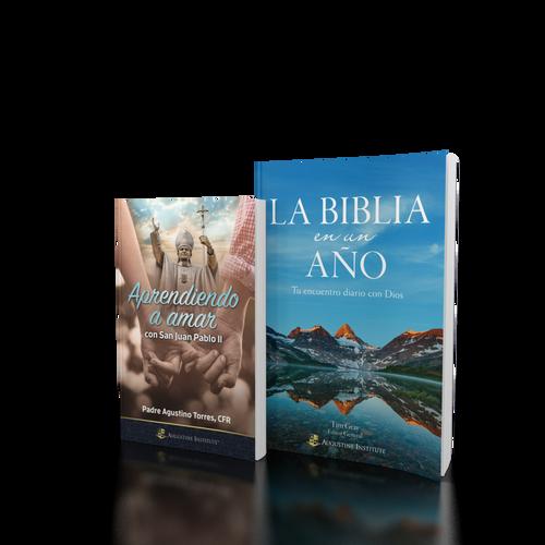 La Biblia en un año + Aprendiendo a amar