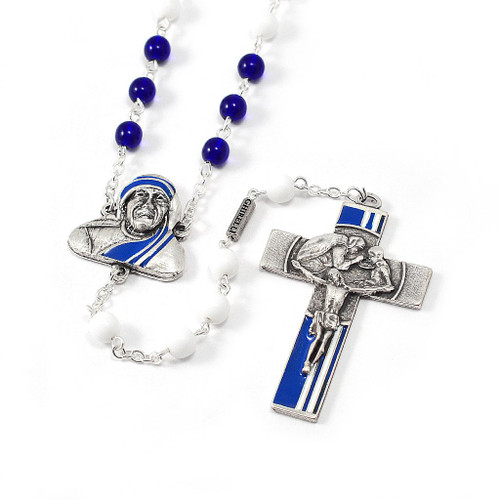 Saint Mother Teresa of Calcutta Rosary by Ghirelli