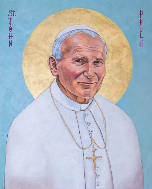 Saint John Paul II 8 x 10 Print