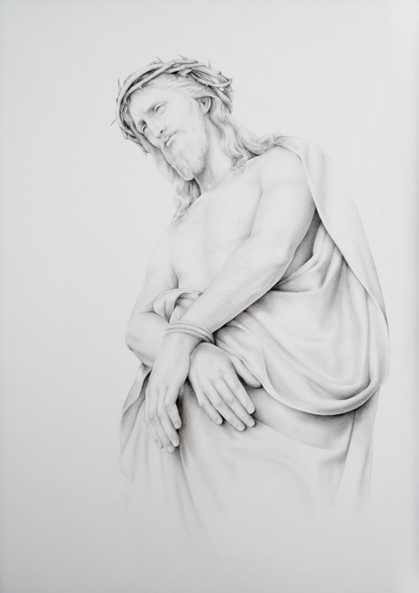 Christ Before the Crowd 8 x 10 Print