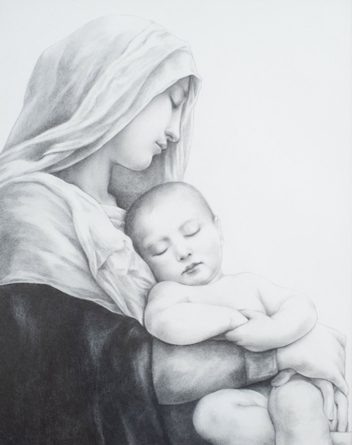 Mother and Child 8 x 10 Print