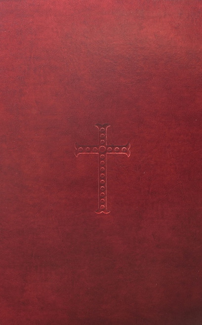 Red Bonded Leather Bible