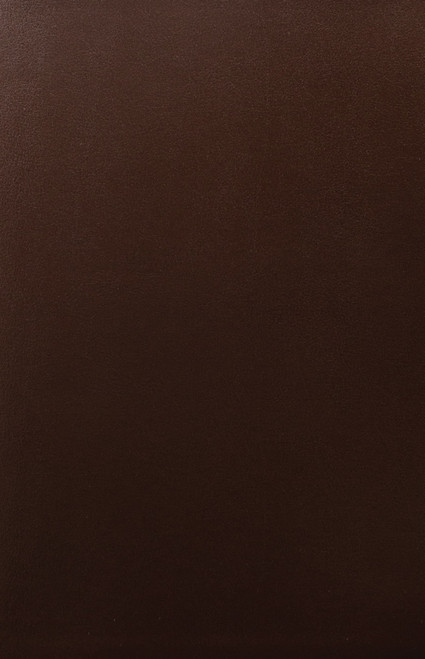Mahogany Bonded Leather Bible