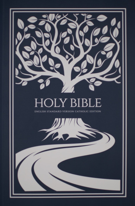 White Tree of Life Paperback Bible