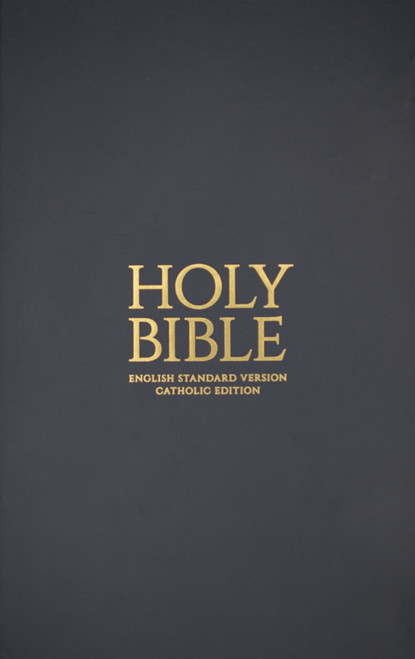 Gray Hardcover Bible