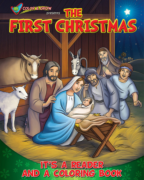 The First Christmas: It's a Reader and a Coloring Book