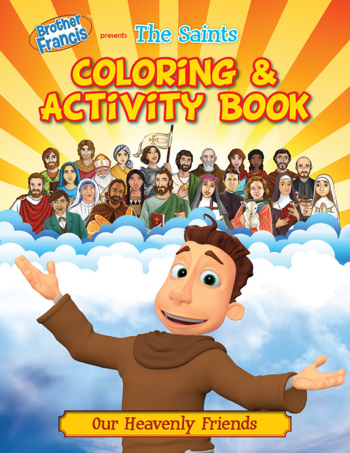 Brother Francis: The Saints Coloring & Activity Book