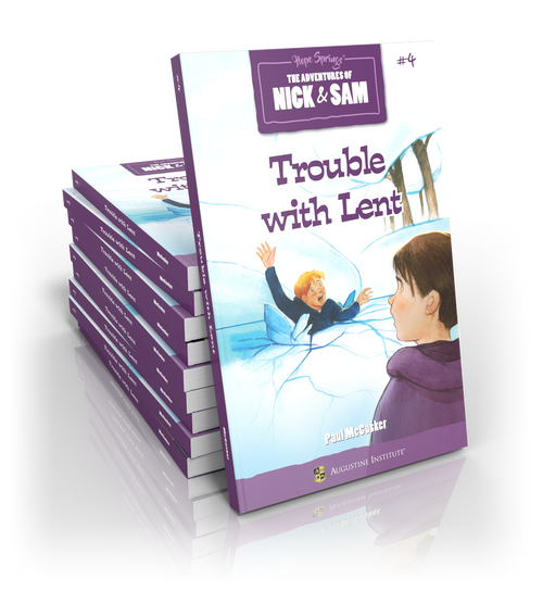 Trouble with Lent: Book #4 of The Adventures of Nick & Sam (Case of 10)