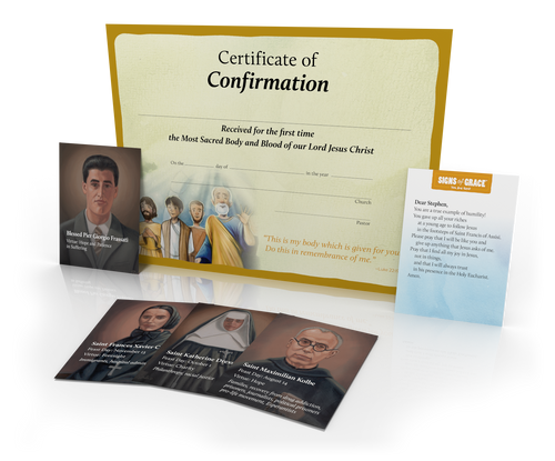 Signs of Grace: You Are Sent - Certificates of Completion, 20 Pack