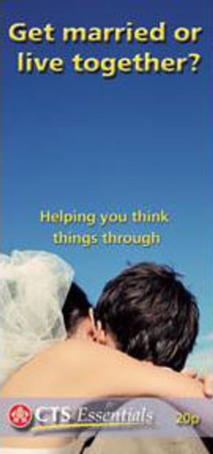 Get Married or Live Together? - Pamphlet (50 Pack)