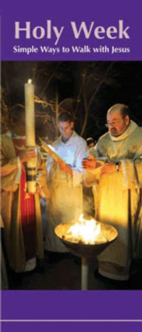 Holy Week: Simple Ways to Walk with Jesus - Pamphlet (50 Pack)