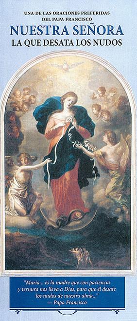 Nuestra Señora La Que Desata Los Nudos - Pamphlet (50 Pack)