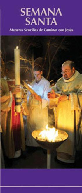 Semana Santa Maneras Sencillas de Caminar con Jesús - Pamphlet (50 Pack)