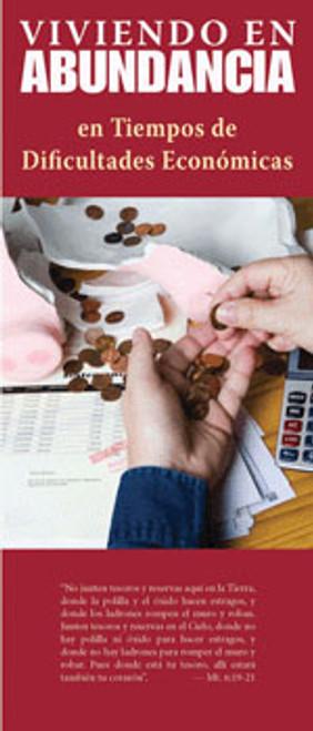 Viviendo en Abundancia en Tiempos de Dificultades Económicas - Pamphlet (50 Pack)