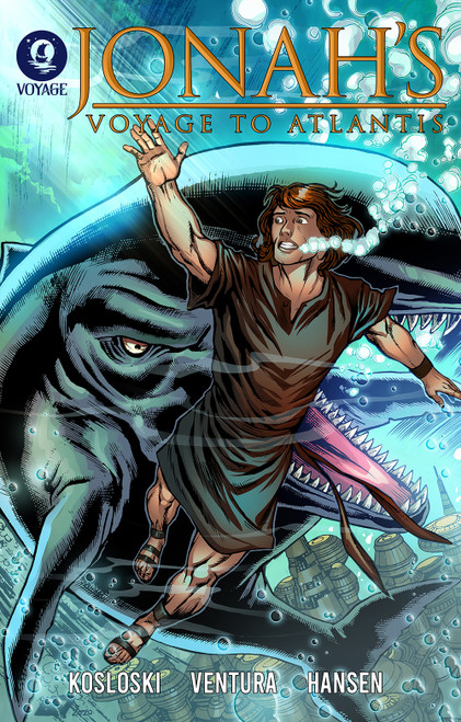 Cover for Jonah's Voyage to Atlantis