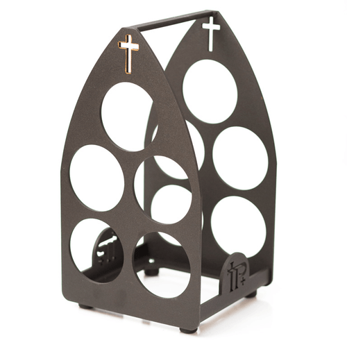Front view of Wine Rack
