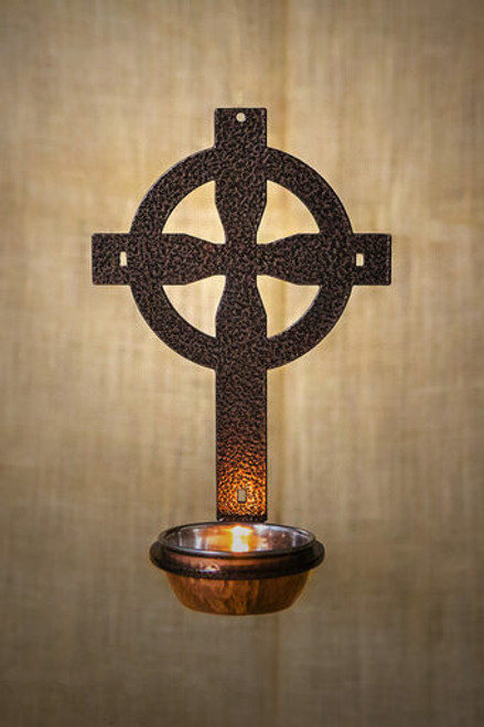 Celtic Holy Water Font (Copper Vein)