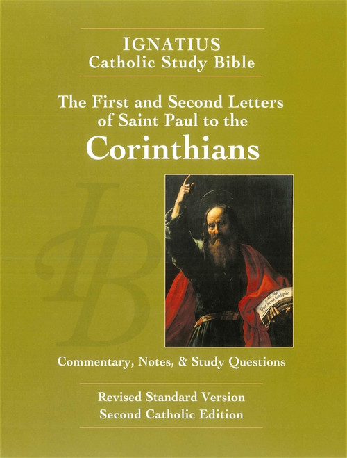 Cover of The First and Second Letter of St. Paul to the Corinthians