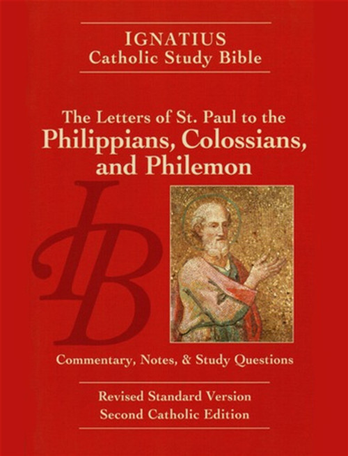 Cover of the Letters of St. Paul to the Phillippians, Colossians, and Philemon