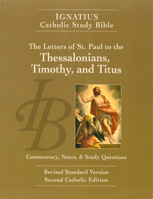 Cover of The Letters of St. Paul to the Thessalonians, Timothy and Titus