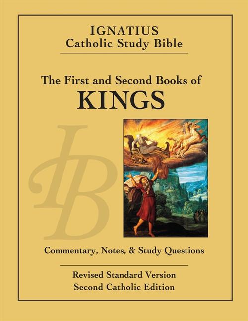 1 & 2 Kings: Ignatius Study Bible Cover