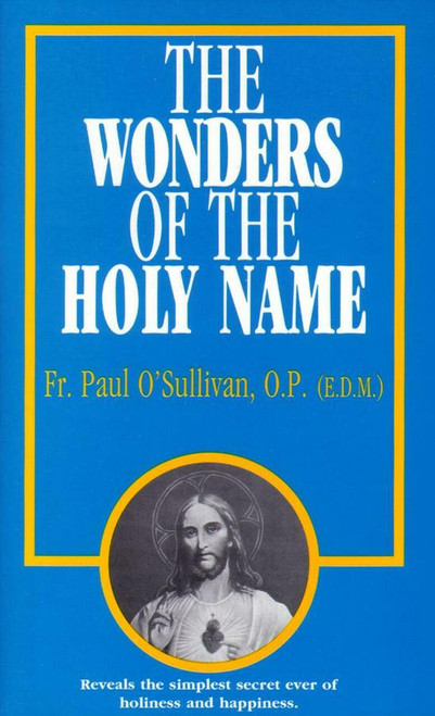 The Wonders of the Holy Name cover