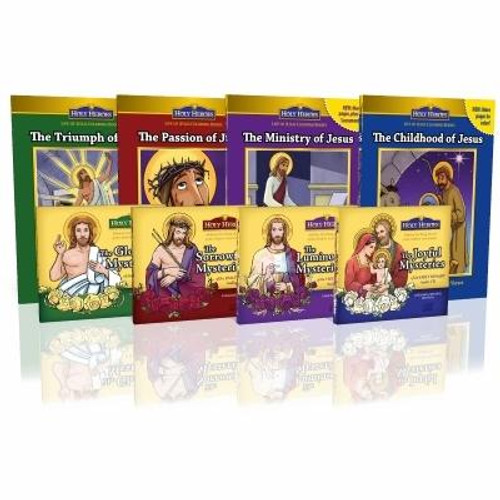 Holy Rosary Complete CD and Coloring Book Set
