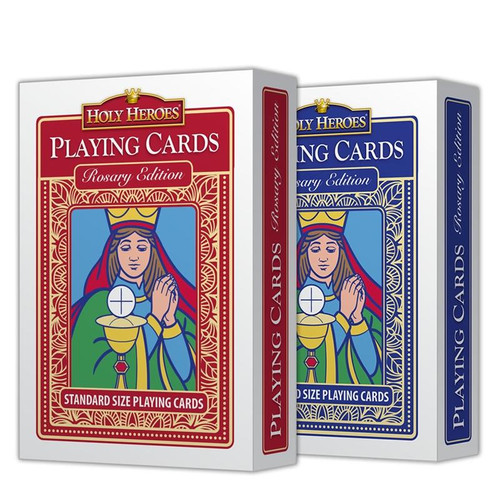 GAME-Holy Heroes Playing Cards: 2-Deck Set