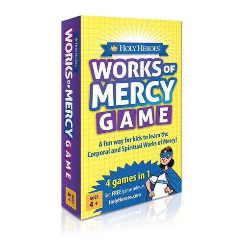 """GAME-Holy Heroes """"Works of Mercy"""" Card Game"""