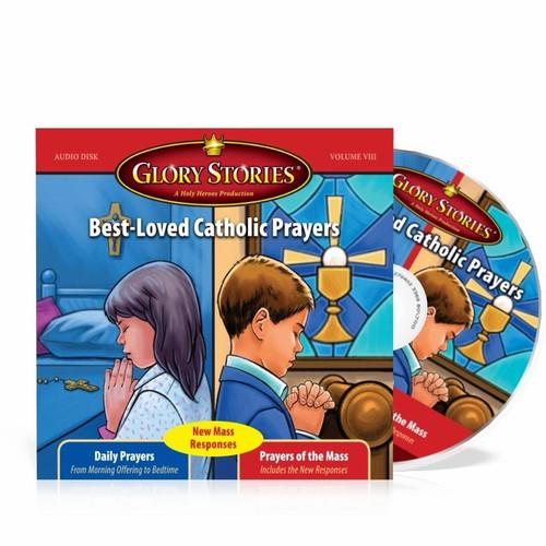 Glory Stories CD Vol 8: Best-loved Catholic Prayers & Prayers of the Mass