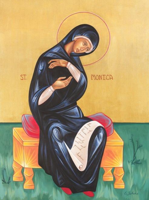 Saint Monica, Mother of Saint Augustine Print