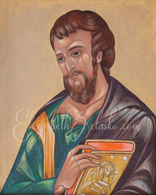 Gospel Writer Luke Print
