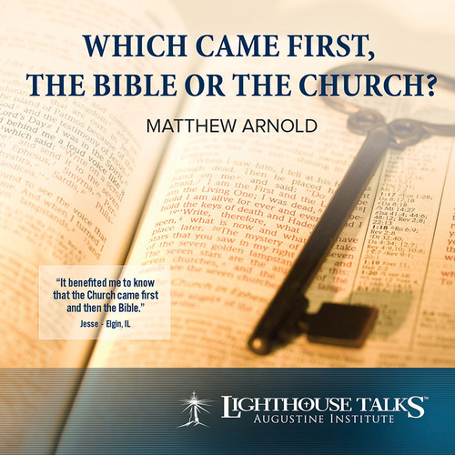 Which Came First - the Bible or the Church? (CD)