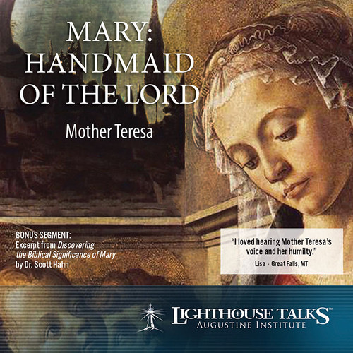 Mary, Handmaid of the Lord (CD)
