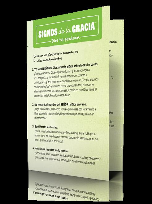 Signos de la Gracia - Dios te perdona: tarjetas para la confesión (20 unidades) – You Are Forgiven Confession Cards (20)