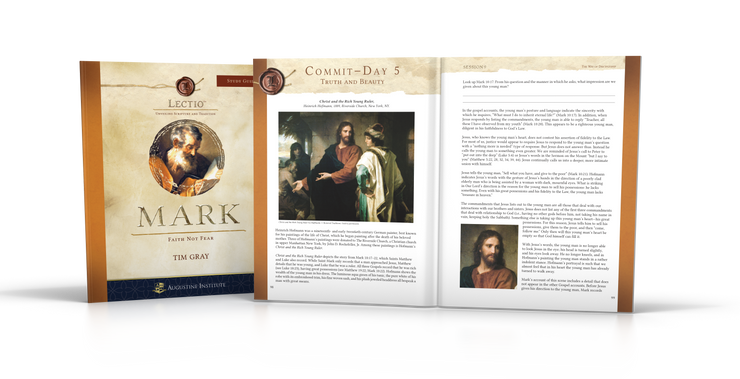 Lectio: Mark - Study Guide (5-Pack)