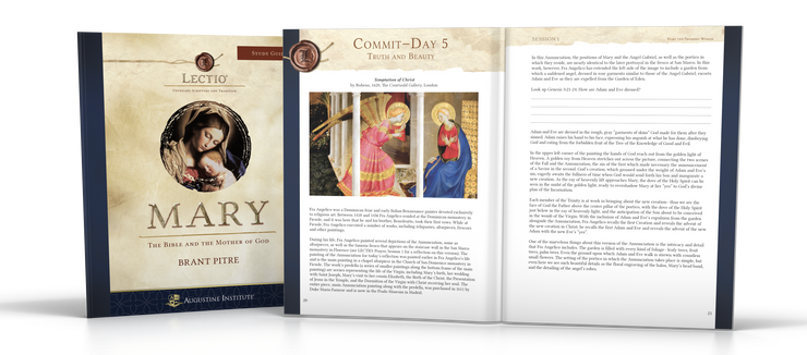 Lectio: Mary - Study Guide (5-Pack)