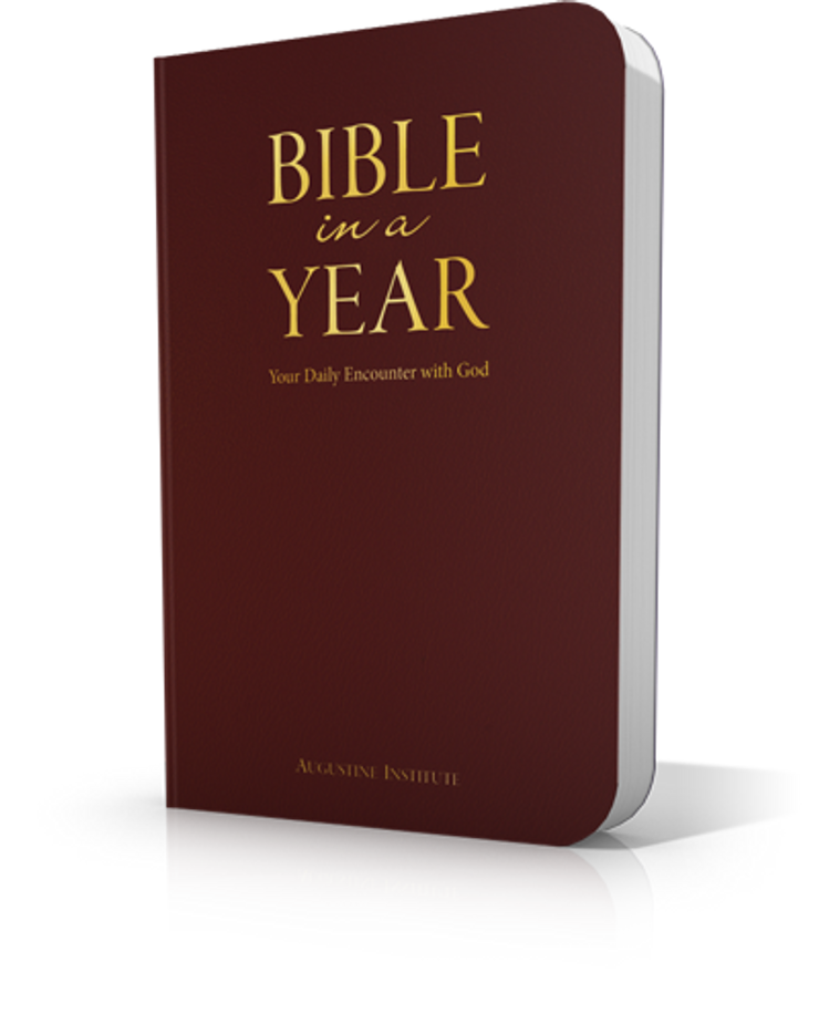 Bible in a Year - RSV-2CE - Leatherbound