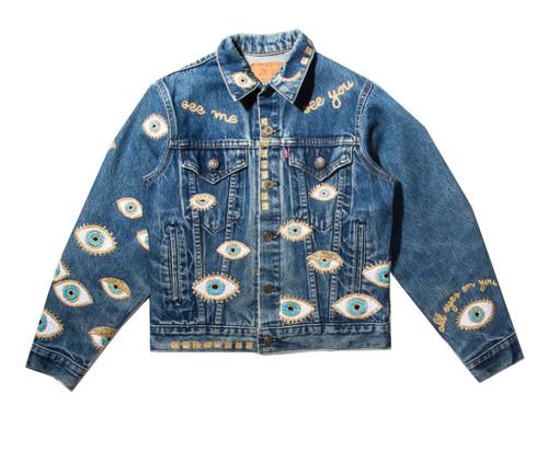 SOLD OUT Metallic Evil Eye Jacket #1